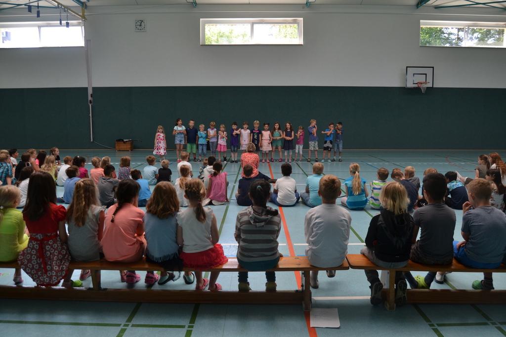 Grundschule Dörverden Verabschiedung Der 4 Klassen